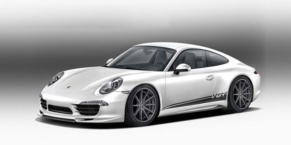 Vorsteiner se penche sur la Porsche 991