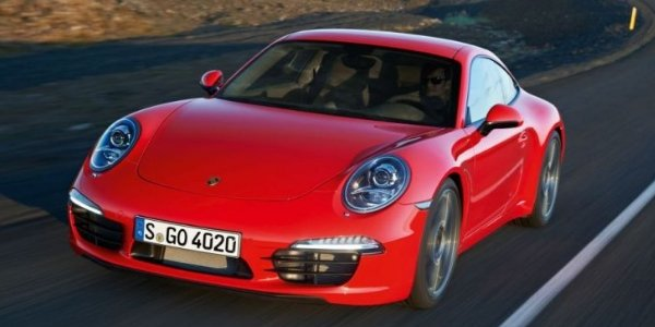 Porsche 911 Carrera S au Nürburgring