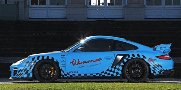 Porsche 911 GT2 RS Wimmer : 1 006 ch !