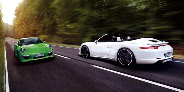 TechArt virilise la Porsche 991 Cabriolet