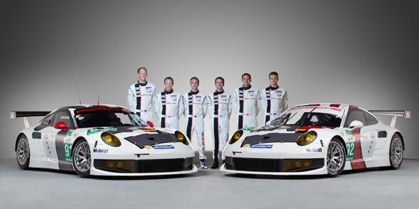 WEC : Porsche dévoile sa 911 RSR