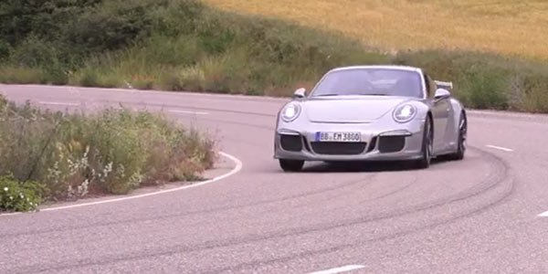 Chris Harris essaye la Porsche 911 GT3