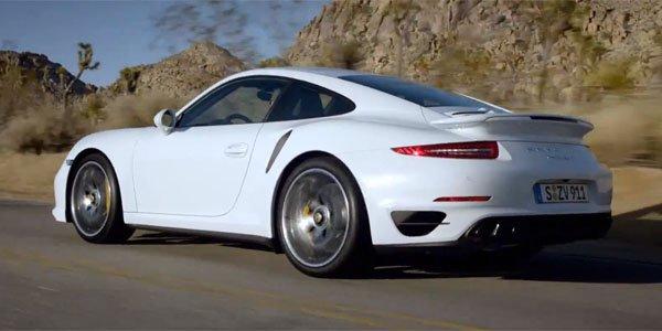 Pause réclame pour la Porsche 991 Turbo