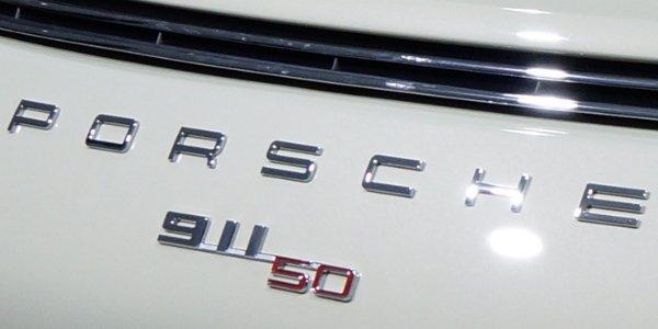 La Porsche 911 50 ans à Francfort