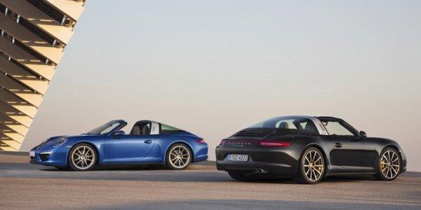 Porsche 991 Targa : premières images