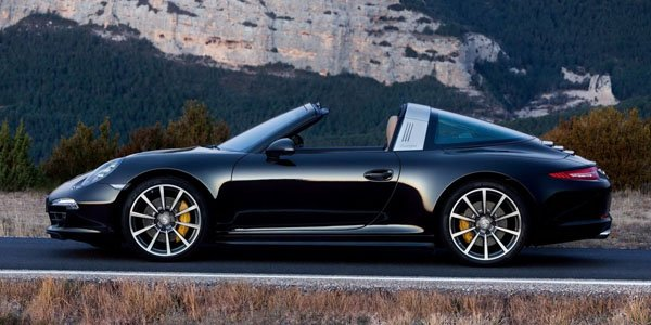 Détroit 2014 : Porsche 991 Targa