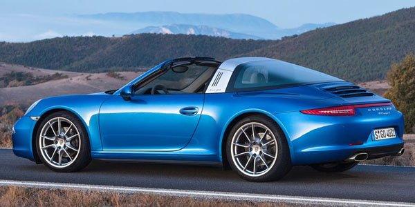 Porsche 991 Targa : cinématique en vidéo