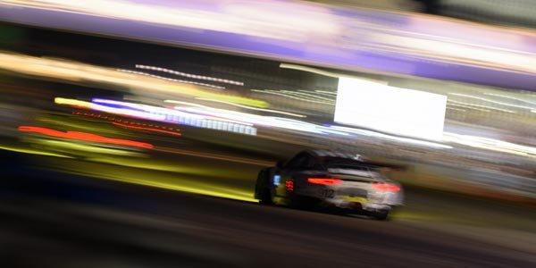 Dans le stand Porsche aux 12H de Sebring