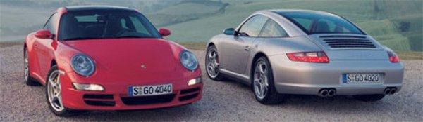 911 Targa : quatre roues motrices uniquement