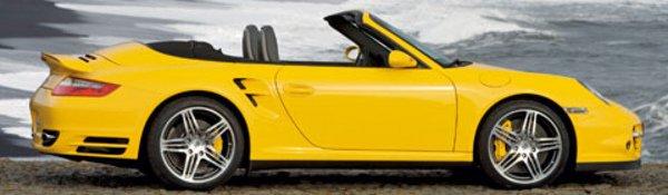 La Porsche Turbo enlève le haut