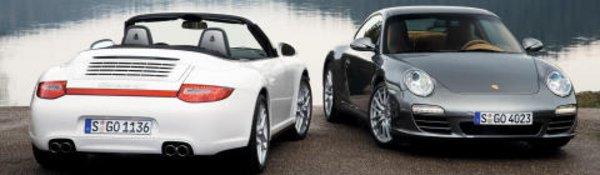 Les 911 Carrera 4 restylées à leur tour
