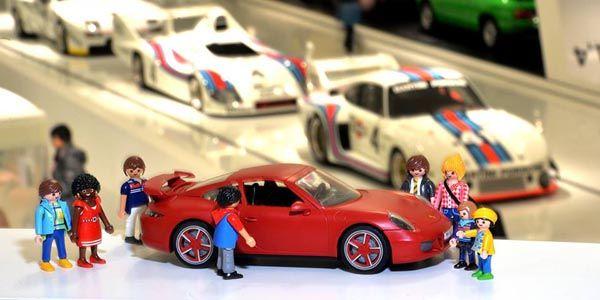 Une Porsche 911 Carrera S chez Playmobil
