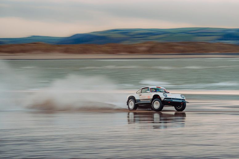Porsche 911 Reimagined by Singer All-terrain Competition Study