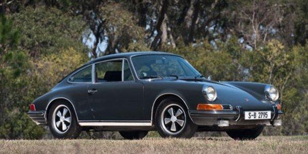1,25 M$ pour la Porsche 911 de McQueen