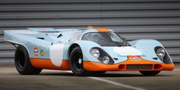 Une Porsche de légende aux enchères