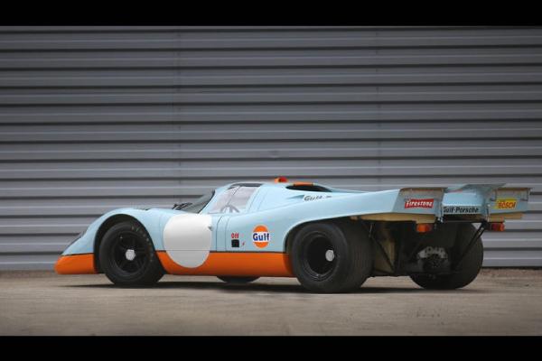 Une exceptionnelle Porsche 917K aux enchères Gooding