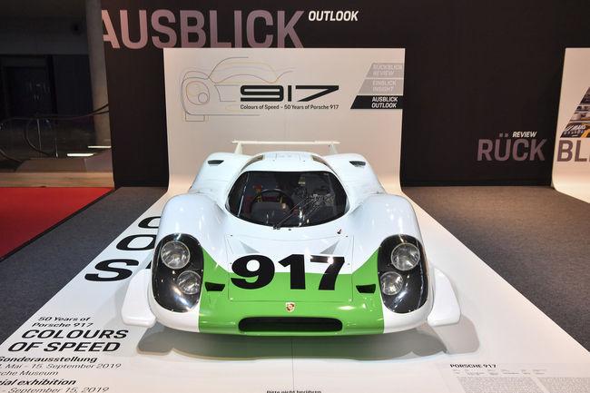 Porsche célèbre les 50 ans de la 917