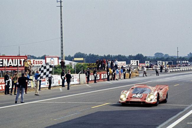 Les 50 ans de la Porsche 917 célébrés à Goodwood