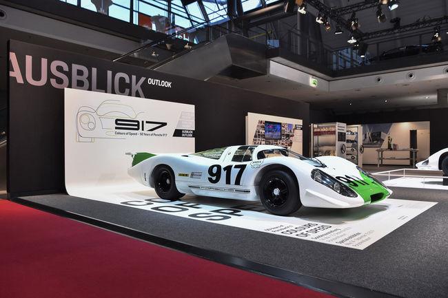 La Porsche 917-001 reprend le chemin de Weissach