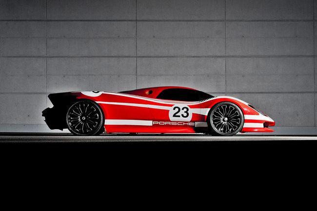 Le Porsche 917 Concept Study en vidéo