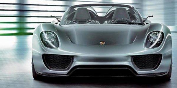 La Porsche 918 à Detroit 2011 ?