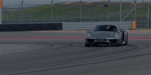 Tour embarqué en Porsche 918 Spyder