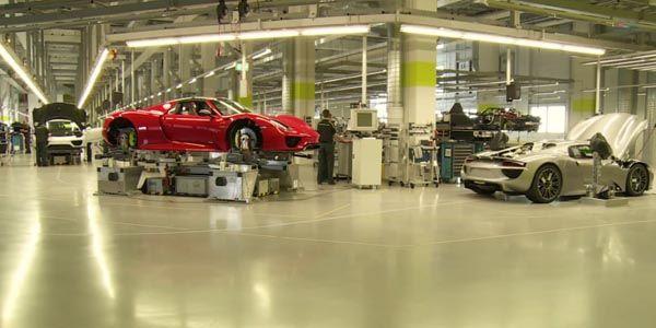 Vidéo : l'assemblage de la Porsche 918 Spyder