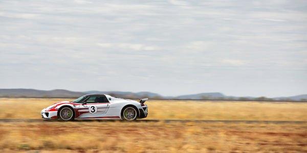 350 km/h en Porsche 918 Spyder