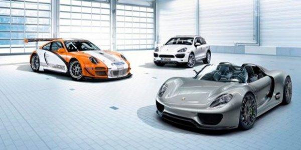 La Porsche 918 Spyder bientôt produite