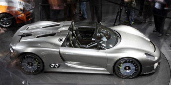 Feu vert pour la Porsche 918 Spyder