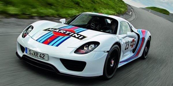 Porsche 918 Spyder : la brochure