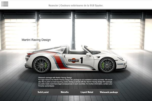 porsche 918 spyder la brochure actualit automobile motorlegend. Black Bedroom Furniture Sets. Home Design Ideas