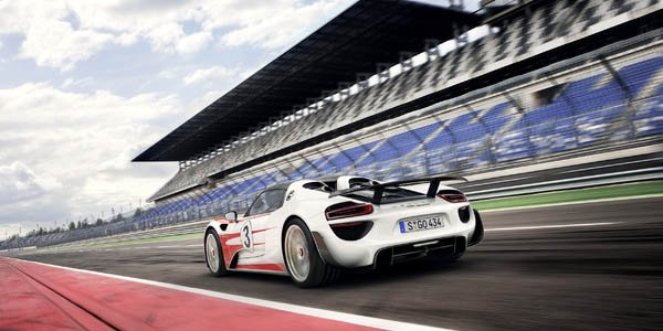 Porsche 918 Spyder : plus performante