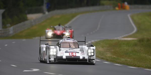 Le Mans : séance studieuse pour Porsche