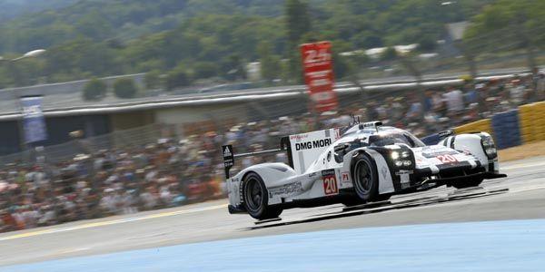 Le Mans : Nico Hulkenberg avec Porsche