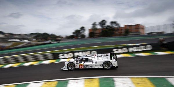 WEC : première victoire Porsche à Sao Paulo