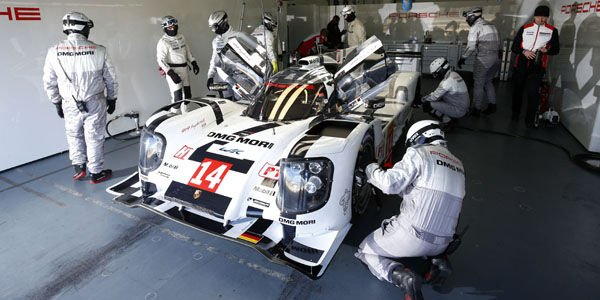 WEC : la nouvelle Porsche 919 Hybrid déjà en piste