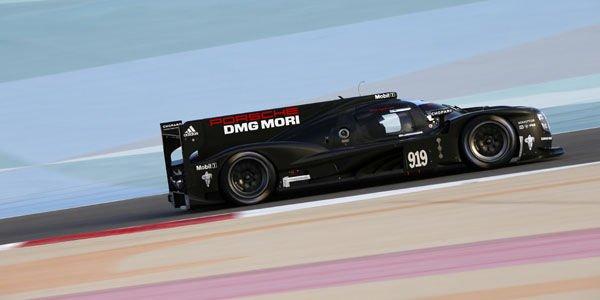 WEC : essais positifs pour Porsche à Bahraïn