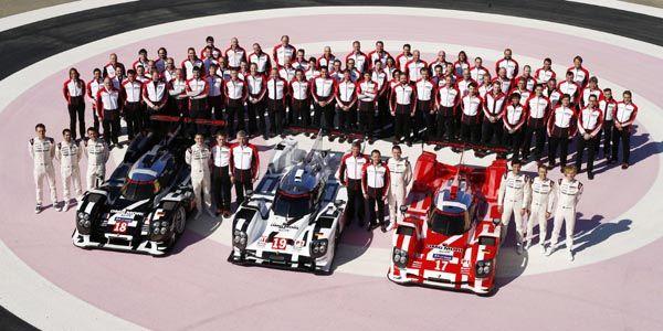 Le Mans : Porsche dévoile ses couleurs