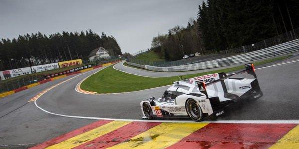 WEC : Porsche se joue de la pluie à Spa