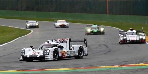 WEC : Porsche de nouveau en pole à Spa