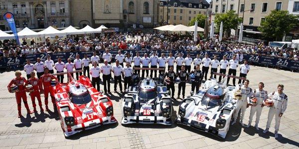 Le Mans : Porsche en ordre de marche