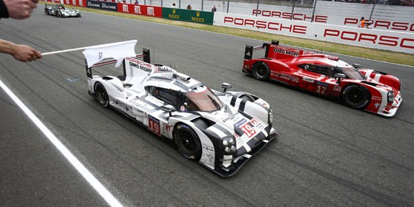 La Porsche 919 Hybrid n°19 à Goodwood