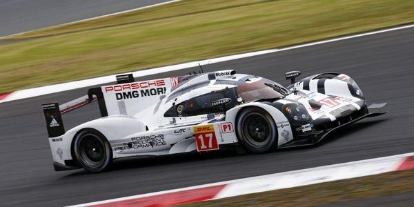 WEC : Porsche en première ligne à Fuji