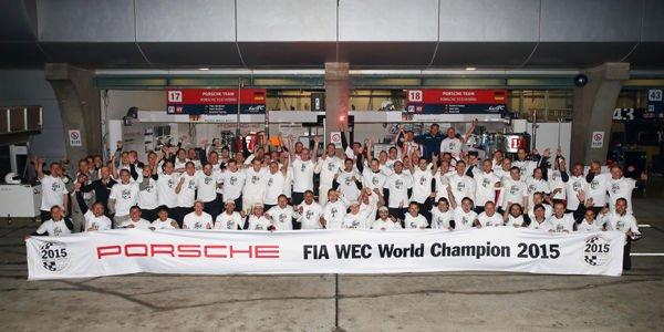 WEC : victoire et titre pour Porsche