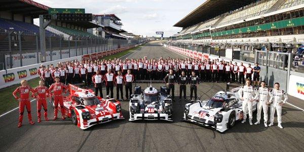 WEC : les dates clés de la campagne Porsche LMP1