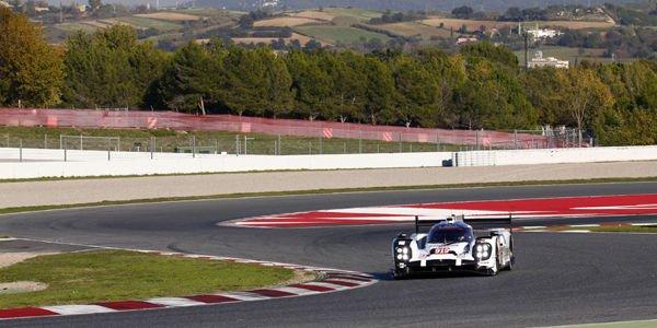 WEC : Porsche en essais à Barcelone