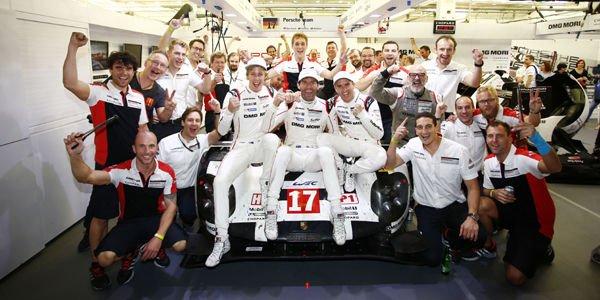 WEC : les pilotes Porsche champions