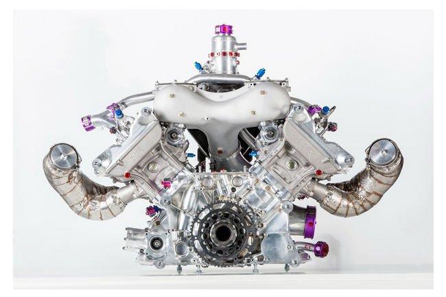 WEC : Porsche présente sa motorisation V4
