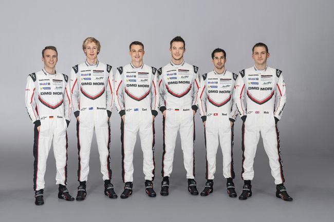 WEC : Porsche dévoile ses équipages